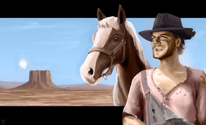 Terence Hill by Kaffeebohnson