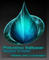 Photoshop Resize Droplet by 878952