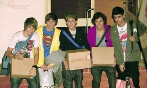 Rare picture of one direction # 3 by DirectionForLyfe