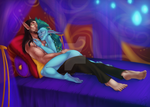 Commission - Tase And Caeluith by seeker-kaliope