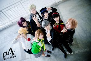 persona 4 cosplay-2 by ShineUeki33