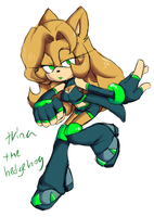 Trina The Hedgeh0g REF by Twilight-Entropy