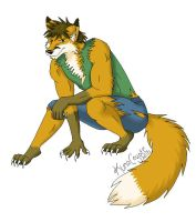 Werefox for V8Arwing93 by KunaCoyote