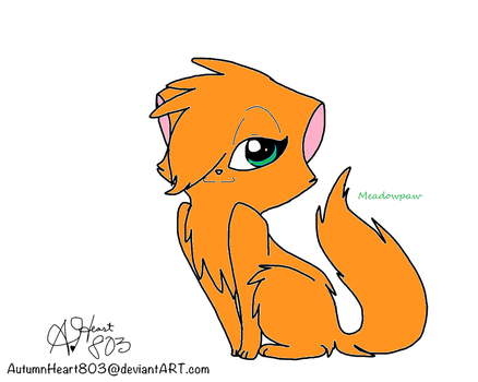 Meadowpaw by Foreveranapprentice