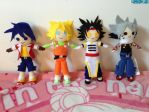 Beyblade Plushies Lot by AnimeJanice