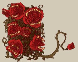 Design work, Roses are Red by KNKL