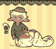 Naga Investigator Adopt (closed) by LizardBat
