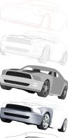 Ford-Mustang by SeRHeLL