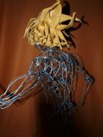 japanese fantasy warrior project wire by AjaKunoichi