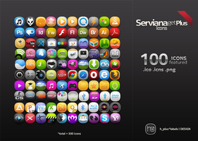 ServianaGetPlus The Icon by hpluslabels