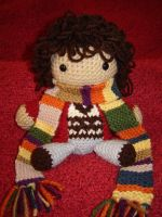 Doctor Who - 4th Doctor by Ginger-PolitiCat
