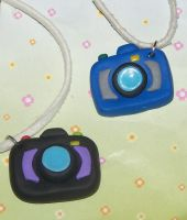 Camera charms by Barbarit