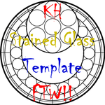 KH Stained Glass Template FTW by kitkatty