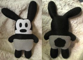 Oswald the Lucky Rabbit by P-isfor-Plushes