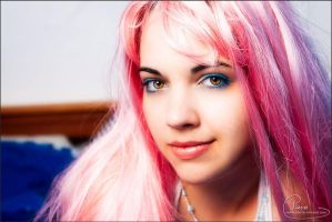 Pink hair - 2 by colorful-beauties