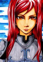 Erza Scarlet X791 by agenory