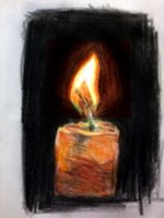 Color Pencil candle Revised by nilesh10494