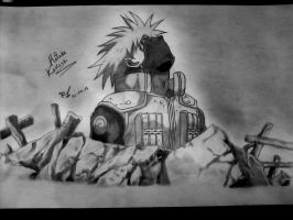 Kakashi Hatake tribute by Robert-Sennin