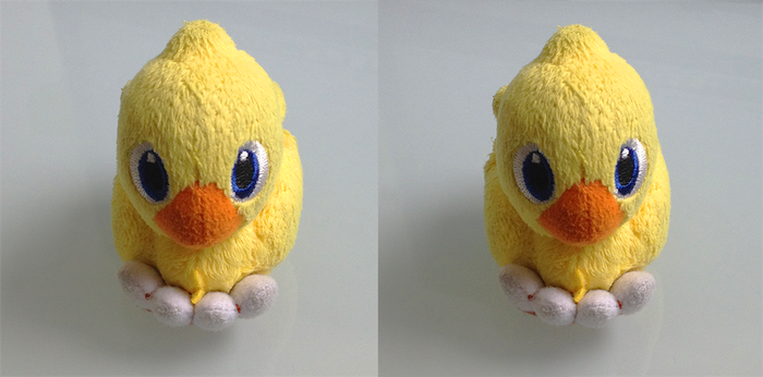 Chocobo - 3D without glasses by Ryat