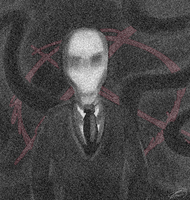 Slender Man by MelTheInvader
