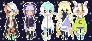 THEY CAME FROM OUTER SPACE! Adopts [CLOSED] by lifeforce10