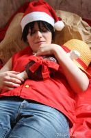 Merry Christmas - Monkey D. Luffy 1 by Wings-chan