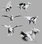 3D Griffin Collage by comixqueen
