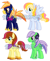 Pony Adoptables 5 by Sakuyamon