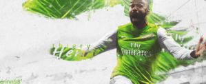 thiery henry ~ arsenal fc by erinnArt