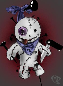 Voodoo Doll by marcelrockeira