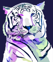 Tiger Purple by elviraNL