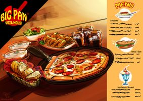 Big Pan Pizza by skian-winterfyre