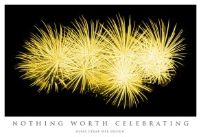 Nothing Worth Celebrating by cezars