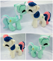 Itty Bitty Lyra and Bon Bon by FollyLolly