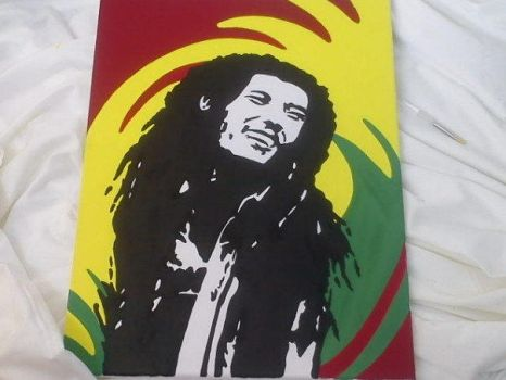bob marley by beckyds42