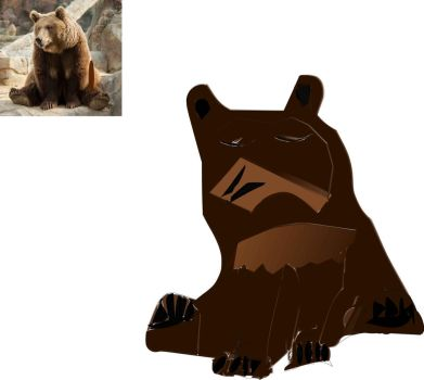 Bear by ericburkedesigns