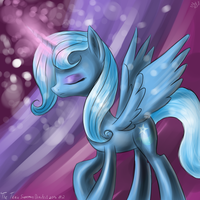 The Trixie Supremacy Drawfest 2013 #2 by BudgieFlitter