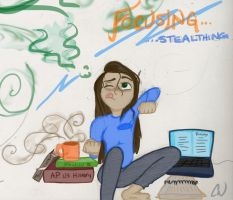 Procrastinator to the max by LittleWheat