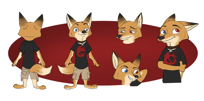 Character Sheet commission by Quirky-Middle-Child