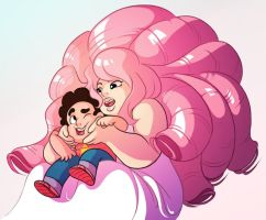 SU - Mother/Son Bonding by JigokuHana