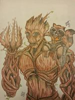 I am Groot (finished) by SSJBROLY