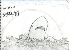 Shark Boy Returns by Fish-man