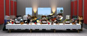 Yogscast - The Last Supper by Kenorway
