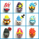 Adventure Time Cupcake Charms by Marielishere