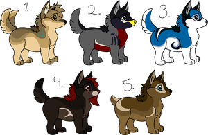 Prices Reduced - Open by Saggy-Adopts