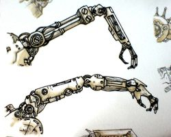 thumbnail mechanical arms by petera
