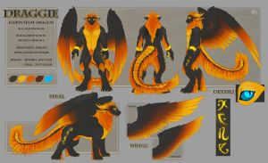 Draggie reference sheet. by Shalinka