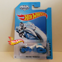 HOT WHEELS 2014 MAXSTEEL MOTORCYCLE HW CITY by idhotwheels