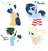 Winter Adopts [CLOSED] by Piperwolf201