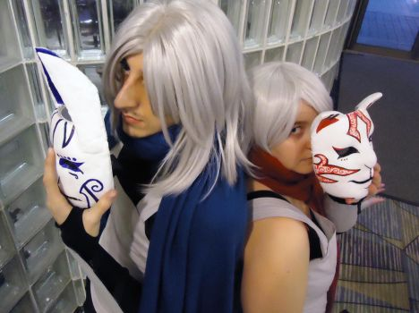 Anbu - Mask Closeups by Nephrae